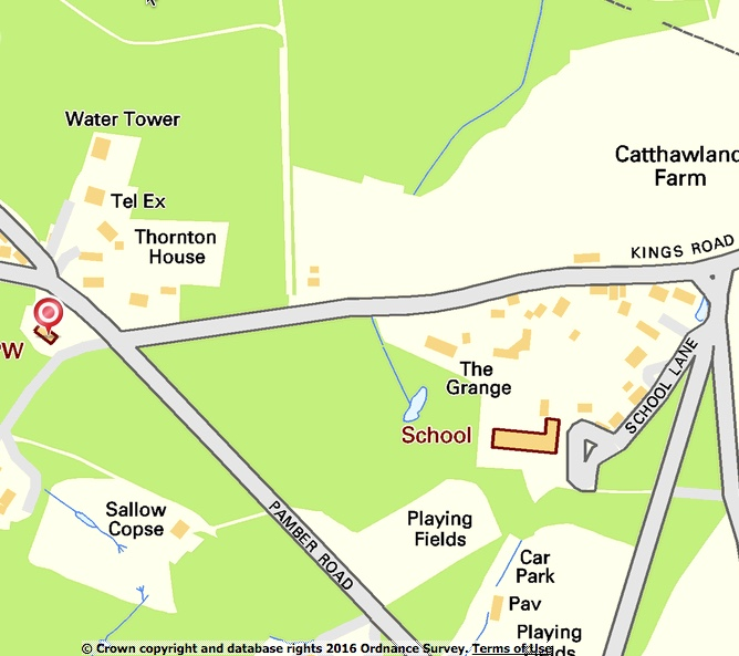 Silchester Map