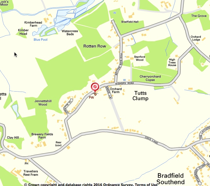 Bradfield map